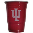 Indiana Hoosiers Game Day Cups - This collegiate Indiana Hoosiers game day cups come in a sleeve of 18 disposable 18 oz plastic cups and feature a silk screened school logo. Thank you for shopping with CrazedOutSports.com