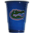 Florida Gators Game Day Cups - Our collegiate game day cups come in a sleeve of 18 disposable 18 oz plastic cups and feature a silk screened Florida Gators school logo. Thank you for shopping with CrazedOutSports.com