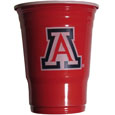 Arizona Wildcats Game Day Cups - What every Arizona Wildcats tailgating or backyard event needs! Comes in the popular 18 oz size for drinks or ping pong balls! Our collegiate game day cups come in a sleeve of 18 disposable 18 oz plastic cups and feature a silk screened Arizona Wildcats logo. Thank you for shopping with CrazedOutSports.com