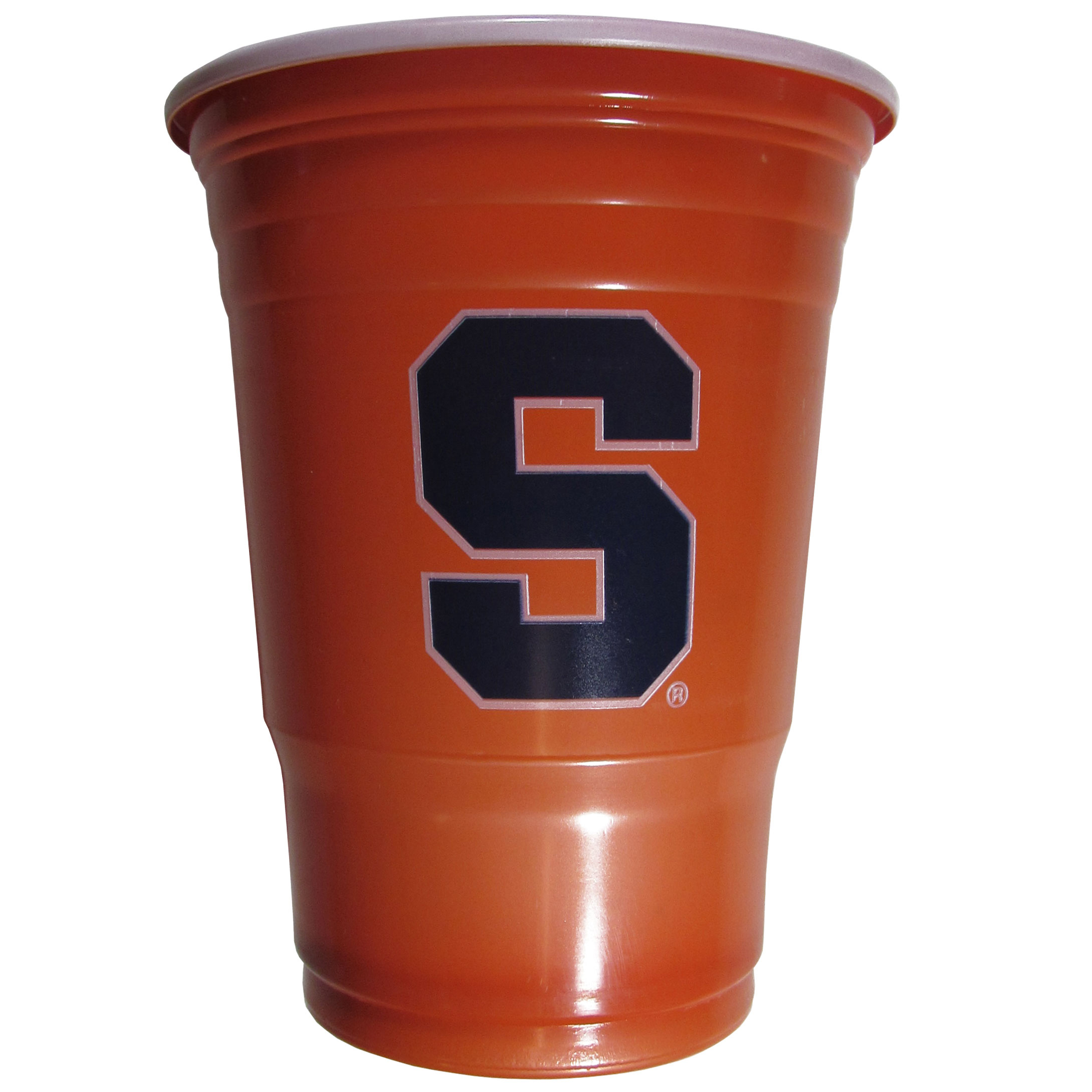 Syracuse Orange Plastic Game Day Cups 2 sleeves of 18 (36 Cups) - Our 18 ounce game day cups are what every tailgating or backyard events needs! The cups feature a big Syracuse Orange logo so you can show off your team pride. The popular 18 ounce size is perfect for drinks or ping pong balls! 2 sleeves of 18 cups, 36 cups in total.