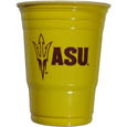 Arizona St. Sun Devils Game Day Cups - What every tailgating or backyard event needs! Comes in the popular 18 oz size for drinks or ping pong balls! Our collegiate game day cups come in a sleeve of 18 disposable 18 oz plastic cups and feature a silk screened Arizona St. Sun Devils logo. Thank you for shopping with CrazedOutSports.com