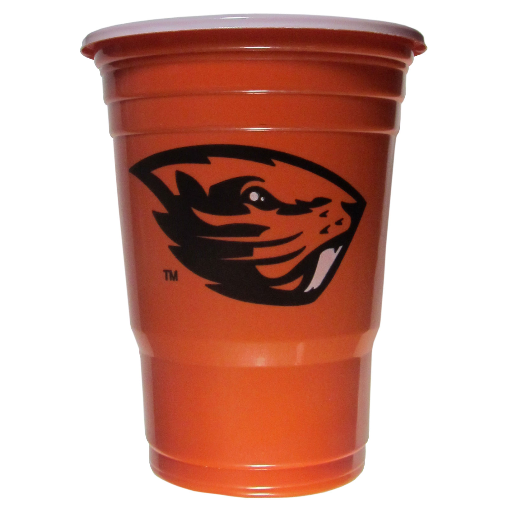 Oregon St. Beavers Plastic Game Day Cups - Our 18 ounce game day cups are what every tailgating or backyard events needs! The cups feature a big Oregon St. Beavers logo so you can show off your team pride. The popular 18 ounce size is perfect for drinks or ping pong balls! Sold in sleeves of 18 cups.
