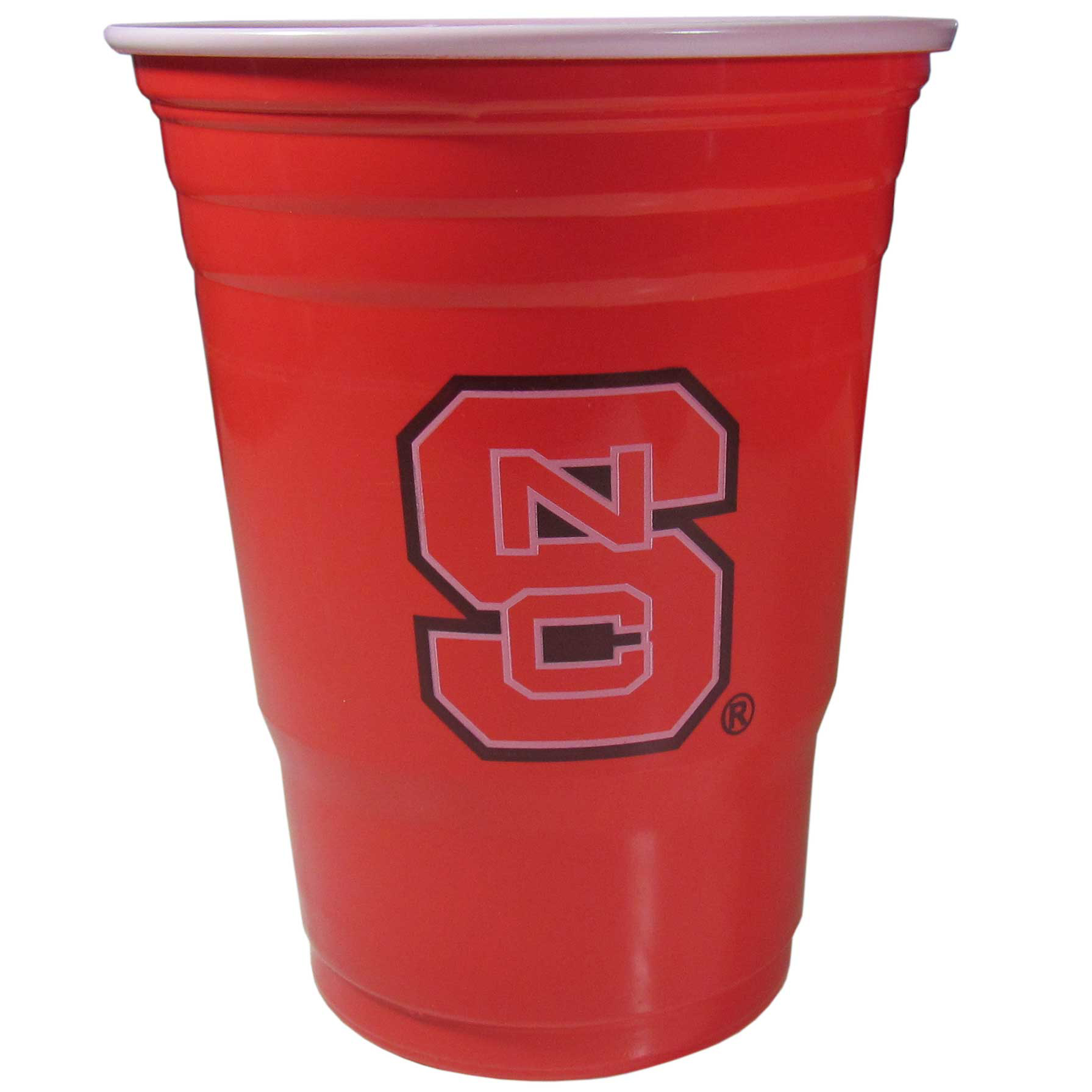 N. Carolina St. Wolfpack Plastic Game Day Cups 2 sleeves of 18 (36 Cups) - Our 18 ounce game day cups are what every tailgating or backyard events needs! The cups feature a big N. Carolina St. Wolfpack logo so you can show off your team pride. The popular 18 ounce size is perfect for drinks or ping pong balls! 2 sleeves of 18 cups, 36 cups in total.