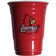Louisville Cardinals Game Day Cups - Louisville Cardinals Game Day Cups is what every tailgating or backyard event needs! Comes in the popular 18 oz size for drinks or ping pong balls! Our collegiate game day cups come in a sleeve of 18 disposable 18 oz plastic cups and feature a silk screened Louisville Cardinals logo. Thank you for shopping with CrazedOutSports.com