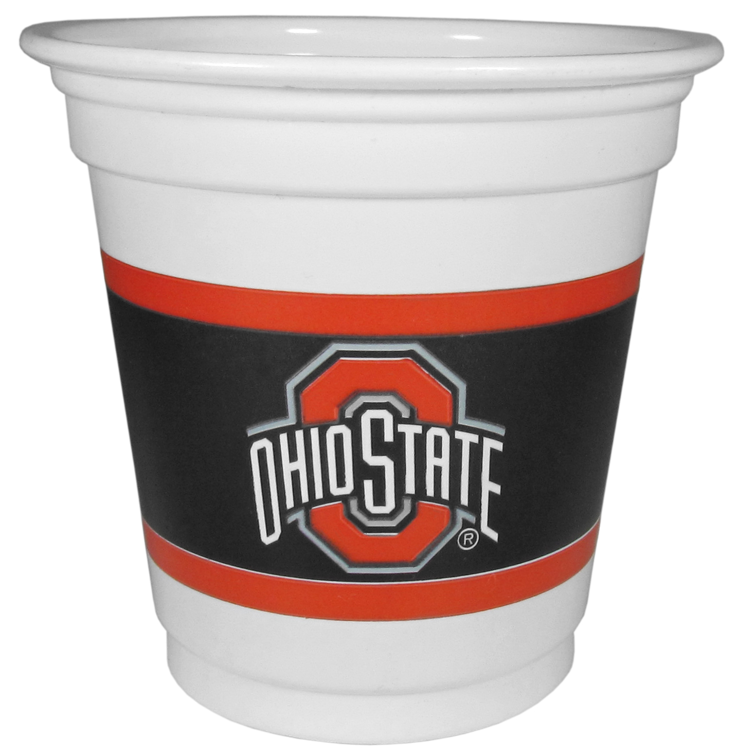 Ohio St. Buckeyes 18 Game Day Mini Cups - No better way to show your off your team pride on game day than these Ohio St. Buckeyes game day mini cups. The 3 ounce disposable glasses are the perfect addition to your game day party or tailgating BBQ. The cups come in a sleeve of 18 to make sure everyone is sporting true team spirit!