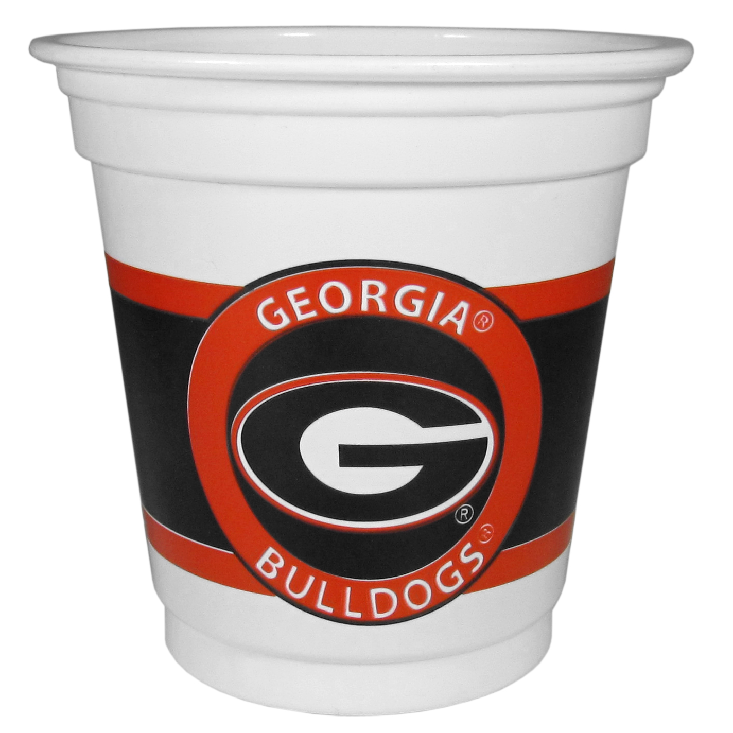 Georgia Bulldogs 18 Game Day Mini Cups - No better way to show your off your team pride on game day than these Georgia Bulldogs game day mini cups. The 3 ounce disposable glasses are the perfect addition to your game day party or tailgating BBQ. The cups come in a sleeve of 18 to make sure everyone is sporting true team spirit!