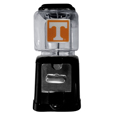 Tennessee Volunteers Black Gumball/Candy Machine - Craving something sweet? Then just reach for your very own Tennessee Volunteers gumball machine! This fun gumball machine accepts nickels, dimes or quarters and can be set for free dispensing. The glass globe is 4 inches wide and tall and can be used for any gumballs or candy that is less than 1/2 inch. The cast metal base is sturdy and features a chrome metal coin receptacle and turn handle. The classic novelty item is perfect for your desk at work, dorm room or game room.