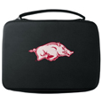 Arkansas Razorbacks GoPro Carrying Case - Our Arkansas Razorbacks GoPro carrying case for GoPro cameras is the perfect balance of style and functionality. This protective Arkansas Razorbacks GoPro Carrying case is water resistant, with a water resistant zipper system making it a great way to protect your Go Pro on the go! The case has a durable insert that fits the GoPro 1,2,3,3+ and 4 plus housing, housing backdoors, SD memory card, battery, power plug, remote control, battery pack and LCD. The case has an additional mesh storage pocket for cables and additional accessories. The classic black case features a large printed team logo. Thank you for shopping with CrazedOutSports.com