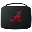 Alabama Crimson Tide GoPro Carrying Case - Our Alabama Crimson Tide carrying case for GoPro cameras is the perfect balance of style and functionality. This protective case is water resistant, with a water resistant zipper system making it a great way to protect your Go Pro on the go! The case has a durable insert that fits the GoPro 1,2,3,3+ and 4 plus housing, housing backdoors, SD memory card, battery, power plug, remote control, battery pack and LCD. The case has an additional mesh storage pocket for cables and additional accessories. The classic black case features a large printed team logo. Thank you for shopping with CrazedOutSports.com