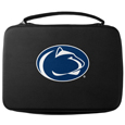 Penn St. Nittany Lions GoPro Carrying Case - Our Penn St. Nittany Lions carrying case for GoPro cameras is the perfect balance of style and functionality. This protective case is water resistant, with a water resistant zipper system making it a great way to protect your Go Pro on the go! The case has a durable insert that fits the GoPro 1,2,3,3+ and 4 plus housing, housing backdoors, SD memory card, battery, power plug, remote control, battery pack and LCD. The case has an additional mesh storage pocket for cables and additional accessories. The classic black case features a large printed team logo. Thank you for shopping with CrazedOutSports.com