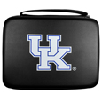 Kentucky Wildcats GoPro Carrying Case - Our Kentucky Wildcats carrying case for GoPro cameras is the perfect balance of style and functionality. This protective case is water resistant, with a water resistant zipper system making it a great way to protect your Go Pro on the go! The case has a durable insert that fits the GoPro 1,2,3,3+ and 4 plus housing, housing backdoors, SD memory card, battery, power plug, remote control, battery pack and LCD. The case has an additional mesh storage pocket for cables and additional accessories. The classic black case features a large printed team logo. Thank you for shopping with CrazedOutSports.com