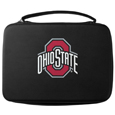 Ohio St. Buckeyes GoPro Carrying Case - Our Ohio St. Buckeyes carrying case for GoPro cameras is the perfect balance of style and functionality. This protective case is water resistant, with a water resistant zipper system making it a great way to protect your Go Pro on the go! The case has a durable insert that fits the GoPro 1,2,3,3+ and 4 plus housing, housing backdoors, SD memory card, battery, power plug, remote control, battery pack and LCD. The case has an additional mesh storage pocket for cables and additional accessories. The classic black case features a large printed team logo. Thank you for shopping with CrazedOutSports.com