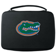 Florida Gators GoPro Carrying Case - Our Florida Gators carrying case for GoPro cameras is the perfect balance of style and functionality. This protective case is water resistant, with a water resistant zipper system making it a great way to protect your Go Pro on the go! The Florida Gators GoPro case has a durable insert that fits the GoPro 1,2,3,3+ and 4 plus housing, housing backdoors, SD memory card, battery, power plug, remote control, battery pack and LCD. The case has an additional mesh storage pocket for cables and additional accessories. The classic black GoPro case features a large printed Florida Gators team logo. Thank you for shopping with CrazedOutSports.com
