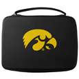 Iowa Hawkeyes GoPro Carrying Case - Iowa Hawkeyes GoPro carrying case for GoPro cameras is the perfect balance of style and functionality. This protective Iowa Hawkeyes GoPro Carrying case is water resistant, with a water resistant zipper system making it a great way to protect your Go Pro on the go! The case has a durable insert that fits the GoPro 1,2,3,3+ and 4 plus housing, housing backdoors, SD memory card, battery, power plug, remote control, battery pack and LCD. The case has an additional mesh storage pocket for cables and additional accessories. The classic Iowa Hawkeyes GoPro Carrying black case features a large printed team logo. Thank you for shopping with CrazedOutSports.com
