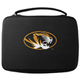 Missouri Tigers GoPro Carrying Case - Our Missouri Tigers carrying case for GoPro cameras is the perfect balance of style and functionality. This protective case is water resistant, with a water resistant zipper system making it a great way to protect your Go Pro on the go! The case has a durable insert that fits the GoPro 1,2,3,3+ and 4 plus housing, housing backdoors, SD memory card, battery, power plug, remote control, battery pack and LCD. The case has an additional mesh storage pocket for cables and additional accessories. The classic black case features a large printed team logo. Thank you for shopping with CrazedOutSports.com
