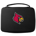 Louisville Cardinals GoPro Carrying Case - Our Louisville Cardinals carrying case for GoPro cameras is the perfect balance of style and functionality. This protective Louisville Cardinals GoPro Carrying Case is water resistant, with a water resistant zipper system making it a great way to protect your Go Pro on the go! The case has a durable insert that fits the GoPro 1,2,3,3+ and 4 plus housing, housing backdoors, SD memory card, battery, power plug, remote control, battery pack and LCD. The Louisville Cardinals GoPro Carrying Case has an additional mesh storage pocket for cables and additional accessories. The classic black case features a large printed team logo. Thank you for shopping with CrazedOutSports.com