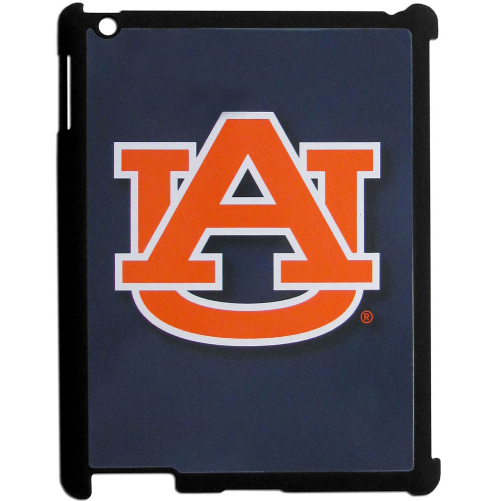 Auburn Tigers iPad 2 Snap on Case - Our officially licensed college iPad 2 snap on case weighs only 7 ounces and has an inset metal team graphics plate. The case snaps easily onto your device providing protection while showing off your Auburn Tigers pride!