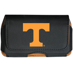 Tennessee Cell Pouch - Keep you personal electronics safe with this horizontal protective case with belt clip and easy flip front. Fits a variety of personal electronics like blackberries, Nano classics, and iTouch. Thank you for shopping with CrazedOutSports.com