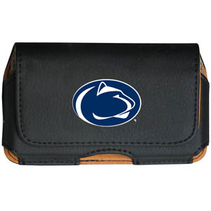 Penn St. Cell Pouch - Keep you personal electronics safe with this horizontal protective case with belt clip and easy flip front. Fits a variety of personal electronics like blackberries, Nano classics, and iTouch. Thank you for shopping with CrazedOutSports.com