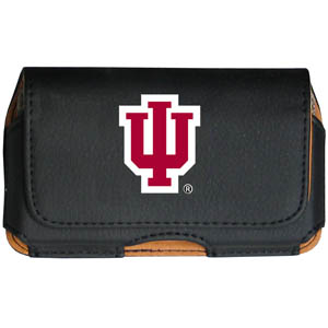 Indiana Hoosiers Cell Pouch - Keep you personal electronics safe with this Indiana Hoosiers horizontal protective case with belt clip and easy flip front. Fits a variety of personal electronics like blackberries, Nano classics, and iTouch. Thank you for shopping with CrazedOutSports.com