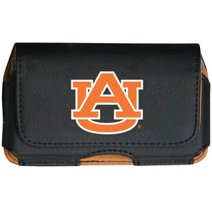 Auburn Tigers Cell Phone Pouch - Keep you personal electronics safe with this horizontal protective Auburn Tigers case with belt clip and easy flip front. Fits a variety of personal electronics like blackberries, Nano classics, and iTouch. Thank you for shopping with CrazedOutSports.com