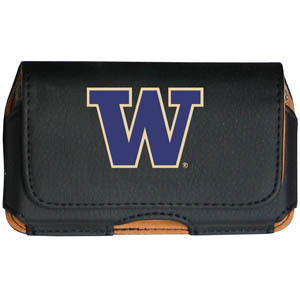 Washington Cell Pouch - Keep you personal electronics safe with this horizontal protective case with belt clip and easy flip front. Fits a variety of personal electronics like blackberries, Nano classics, and iTouch. Thank you for shopping with CrazedOutSports.com