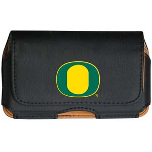 Oregon Cell Pouch - Keep you personal electronics safe with this horizontal protective case with belt clip and easy flip front. Fits a variety of personal electronics like blackberries, Nano classics, and iTouch. Thank you for shopping with CrazedOutSports.com