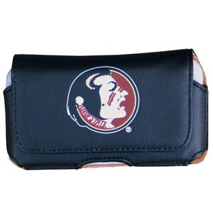 Florida State Seminoles Cell Pouch - Keep your personal electronics safe with this Florida State Seminoles horizontal protective case with belt clip and easy flip front. Fits a variety of personal electronics like blackberries, Nano classics, and iTouch. Thank you for shopping with CrazedOutSports.com