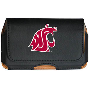 Washington St. Cell Pouch - Keep you personal electronics safe with this horizontal protective case with belt clip and easy flip front. Fits a variety of personal electronics like blackberries, Nano classics, and iTouch. Thank you for shopping with CrazedOutSports.com