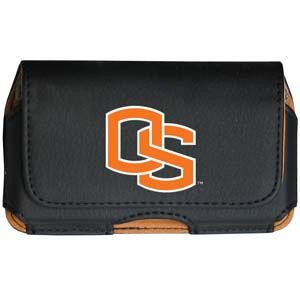 Oregon St. Cell Pouch - Keep you personal electronics safe with this horizontal protective case with belt clip and easy flip front. Fits a variety of personal electronics like blackberries, Nano classics, and iTouch. Thank you for shopping with CrazedOutSports.com