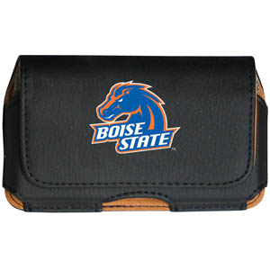 Boise State Broncos Cell Pouch - Keep your personal electronics safe with this Boise State Broncos horizontal protective case with belt clip and easy flip front. Fits a variety of personal electronics like blackberries, Nano classics, and iTouch. Thank you for shopping with CrazedOutSports.com