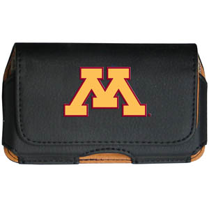Minnesota Golden Gophers Cell Pouch - Keep you personal electronics safe with this horizontal protective Minnesota Golden Gophers Cell Pouch with belt clip and easy flip front. The Minnesota Golden Gophers Cell Pouch fits a variety of personal electronics like blackberries, Nano classics, and iTouch. Thank you for shopping with CrazedOutSports.com