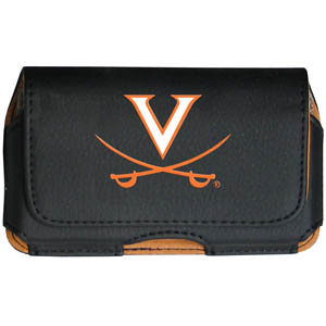 Virginia Cell Pouch - Keep you personal electronics safe with this horizontal protective case with belt clip and easy flip front. Fits a variety of personal electronics like blackberries, Nano classics, and iTouch. Thank you for shopping with CrazedOutSports.com