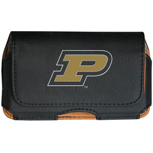 Purdue Cell Pouch - Keep you personal electronics safe with this horizontal protective case with belt clip and easy flip front. Fits a variety of personal electronics like blackberries, Nano classics, and iTouch. Thank you for shopping with CrazedOutSports.com