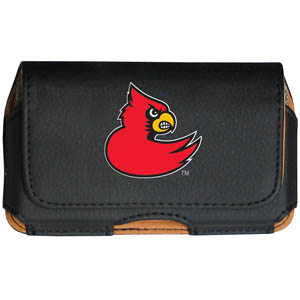Louisville Cell Pouch - Keep you personal electronics safe with this horizontal protective case with belt clip and easy flip front. Fits a variety of personal electronics like blackberries, Nano classics, and iTouch. Thank you for shopping with CrazedOutSports.com