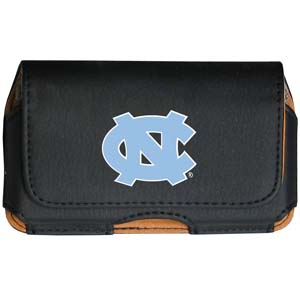 N. Carolina Cell Pouch - Keep you personal electronics safe with this horizontal protective case with belt clip and easy flip front. Fits a variety of personal electronics like blackberries, Nano classics, and iTouch. Thank you for shopping with CrazedOutSports.com