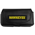 Iowa Hawkeyes Smart Phone Pouch - Iowa Hawkeyes smart phone pouch fits most phone styles and features a magnetic flip cover for easy access. The pouch has a clip with swivel head to easily attach the pouch to belts, backpacks or purses. Thank you for shopping with CrazedOutSports.com