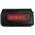 Virginia Tech Hokies Smart Phone Pouch - Our smart phone pouch fits most phone styles and features a magnetic flip cover for easy access. The pouch has a clip with swivel head to easily attach the pouch to belts, backpacks or purses. Thank you for shopping with CrazedOutSports.com