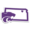 Kansas St. Wildcats Home State Decal