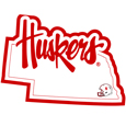 Nebraska Cornhuskers Home State Decal