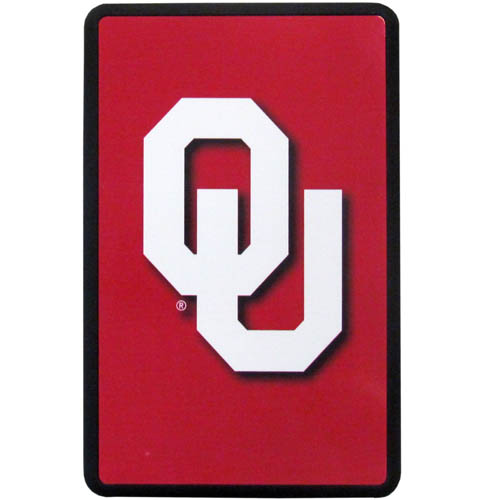 Oklahoma Kindle Fire Snap on Case - Our officially licensed collegiate Kindle fire snap on case weighs only 7 ounces and has an inset metal team graphics plate. The case snaps easily onto your device providing protection while showing off your Oklahoma Sooners pride! Thank you for shopping with CrazedOutSports.com