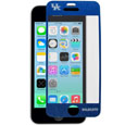 Kentucky Wildcats iPhone 5/5S Screen Protector - Whether your phone is in your pocket, purse or on a table it is at risk to be scratched. You may have a case on to protect your smartphone from those devastating drops, but do you have anything protecting the screen? What good is your phone if you can't read the screen? A scratch, fingerprint or glare can make it challenging to read your phone screen, so why not show your team pride while protecting your phone screen with Siskiyou's brand new iPhone 5/5S Kentucky Wildcats screen protectors. These screen protectors come in a 2-pack and will not inhibit touchscreen functionality, yet they will add that extra spirit and protection to your smartphone. Siskiyou's spirit screen protectors allow for repositioning of the protector in case you need a second shot at placing it in just the right spot. Thank you for shopping with CrazedOutSports.com