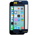 Michigan Wolverines iPhone 5/5S Screen Protector - Whether your phone is in your pocket, purse or on a table it is at risk to be scratched. You may have a case on to protect your smartphone from those devastating drops, but do you have anything protecting the screen? What good is your phone if you can't read the screen? A scratch, fingerprint or glare can make it challenging to read your phone screen, so why not show your team pride while protecting your phone screen with Siskiyou's brand new iPhone 5/5S Michigan Wolverines screen protectors. These Michigan Wolverines iPhone 5/5S Screen Protectors come in a 2-pack and will not inhibit touchscreen functionality, yet they will add that extra spirit and protection to your smartphone. Michigan Wolverines iPhone 5/5S Screen Protectors allow for repositioning of the protector in case you need a second shot at placing it in just the right spot. Thank you for shopping with CrazedOutSports.com