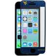 W. Virginia Mountaineers iPhone 5/5S Screen Protector - Whether your phone is in your pocket, purse or on a table it is at risk to be scratched. You may have a case on to protect your smartphone from those devastating drops, but do you have anything protecting the screen? What good is your phone if you can't read the screen? A scratch, fingerprint or glare can make it challenging to read your phone screen, so why not show your team pride while protecting your phone screen with Siskiyou's brand new iPhone 5/5S W. Virginia Mountaineers screen protectors. These screen protectors come in a 2-pack and will not inhibit touchscreen functionality, yet they will add that extra spirit and protection to your smartphone. Siskiyou's spirit screen protectors allow for repositioning of the protector in case you need a second shot at placing it in just the right spot. Thank you for shopping with CrazedOutSports.com