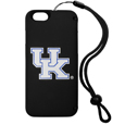 Kentucky Wildcats iPhone 6 Everything Case - This case really does have everything but the kitchen sink! The hidden compartment lets you keep your cards, money and tickets to the big game safe and secure and has a compact mirror so you can make sure your game face is ready to go. It also comes with a kickstand to make chatting and watching videos a breeze. The wrist strap allows you to travel with ease with your everything case. If that's not enough, it also comes with the Kentucky Wildcats logo printed in expert detail on the front.