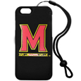 Maryland Terrapins iPhone 6 Everything Case - This case really does have everything but the kitchen sink! The hidden compartment lets you keep your cards, money and tickets to the big game safe and secure and has a compact mirror so you can make sure your game face is ready to go. It also comes with a kickstand to make chatting and watching videos a breeze. The wrist strap allows you to travel with ease with your everything case. If that's not enough, it also comes with the Maryland Terrapins logo printed in expert detail on the front.