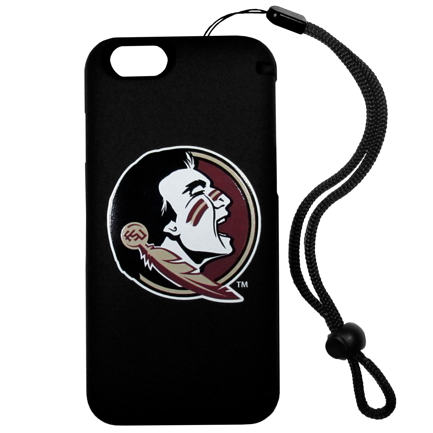 Florida St. Seminoles iPhone 6 Everything Case - This case really does have everything but the kitchen sink! The hidden compartment lets you keep your cards, money and tickets to the big game safe and secure and has a compact mirror so you can make sure your game face is ready to go. It also comes with a kickstand to make chatting and watching videos a breeze. The wrist strap allows you to travel with ease with your everything case. If that's not enough, it also comes with the Florida St. Seminoles logo printed in expert detail on the front.