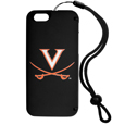 Virginia Cavaliers iPhone 6 Everything Case - This case really does have everything but the kitchen sink! The hidden compartment lets you keep your cards, money and tickets to the big game safe and secure and has a compact mirror so you can make sure your game face is ready to go. It also comes with a kickstand to make chatting and watching videos a breeze. The wrist strap allows you to travel with ease with your everything case. If that's not enough, it also comes with the Virginia Cavaliers logo printed in expert detail on the front.