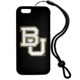 Baylor Bears iPhone 6 Plus Everything Case - This case really does have everything but the kitchen sink! The hidden compartment lets you keep your cards, money and tickets to the big game safe and secure and has a compact mirror so you can make sure your game face is ready to go. It also comes with a kickstand to make chatting and watching videos a breeze. The wrist strap allows you to travel with ease with your everything case. If that's not enough, it also comes with the Baylor Bears logo printed in expert detail on the front.
