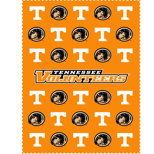 "Tennessee iPad Microfiber Cleaning Cloth - Our collegiate iPad microfiber cleaning cloth is great for keeping your iPad screen free of oil, dirt and smudges. The cloth is sized to perfectly fit the iPad screen so that it lays over it as added protection when the device is in a case. 7.5"" X 9.5"" cloth. Thank you for shopping with CrazedOutSports.com"